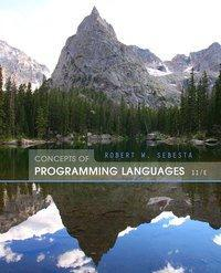 Concepts of Programming Languages, 11th Edition