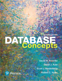 Database Concepts 8th Edition by David M. Kroenke