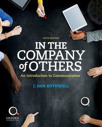In the Company of Others 5th Edition by J. Dan Rothwell