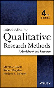 Introduction to Qualitative Research Methods A Guidebook and Resource 4th Edition
