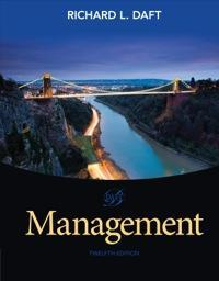 Management 12th Edition by Richard L. Daft