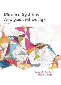 Modern Systems Analysis and Design 8th Edition