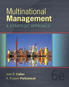 Multinational Management 6th Edition