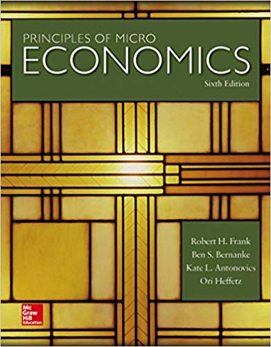 Principles of  Microeconomics, Brief Edition  3rd Edition - Robert Frank