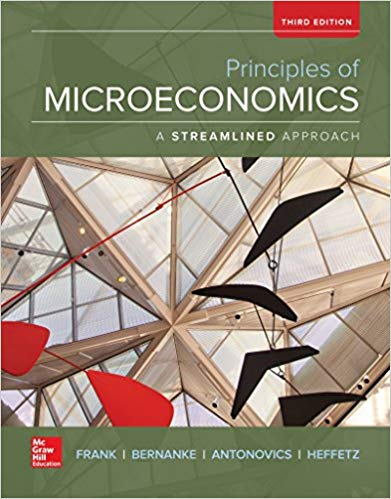 Principles of Microeconomics, A Streamlined Approach (Irwin Economics) 3rd Edition