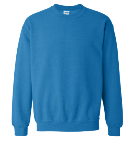 Neck Sweatshirt (Ocean Blue)