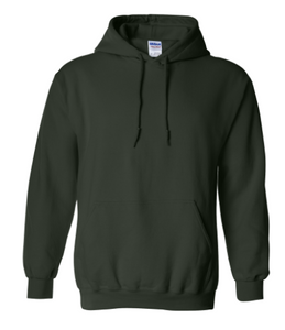 Hooded Sweatshirt (Dark Green)