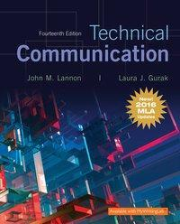 Technical Communication 14th Edition by John M. Lannon
