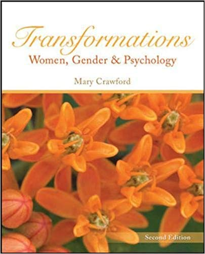 Transformations Women, Gender and Psychology - Mary Crawford