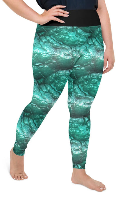 Alien Flesh Plus Size Leggings - Legs Of Anarchy