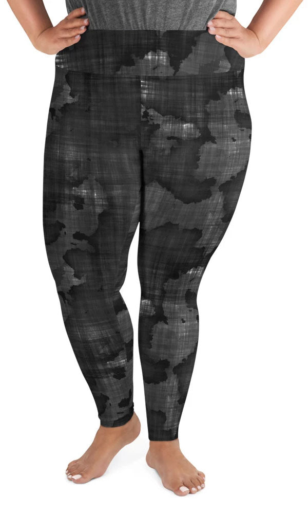 Dark World Plus Size Leggings - Legs Of Anarchy