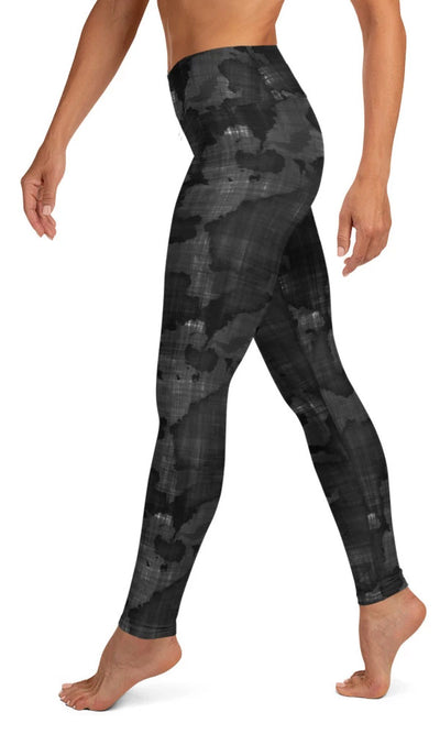 Dark World Yoga Leggings - Legs Of Anarchy