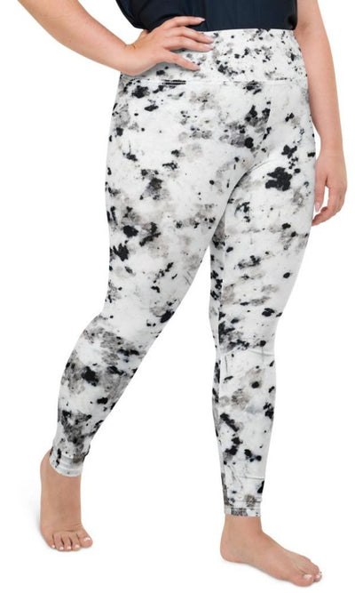Harper  Plus Size Leggings - Legs Of Anarchy