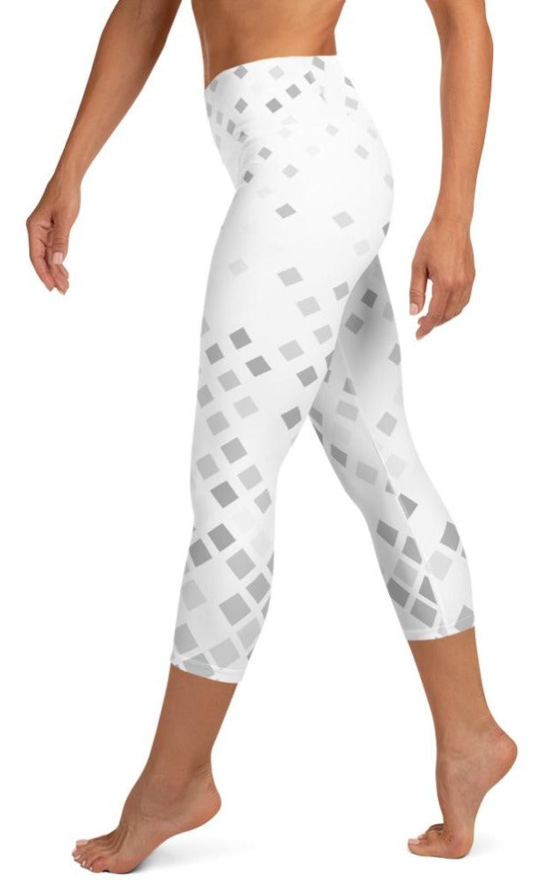 Grace Yoga Capri Leggings - Legs Of Anarchy