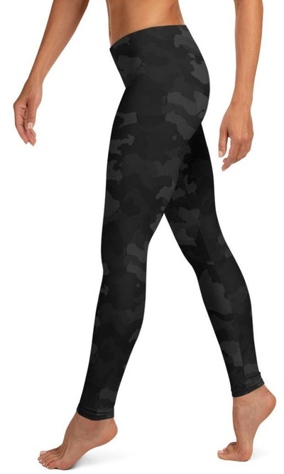 Midnight Camo Leggings - Legs Of Anarchy