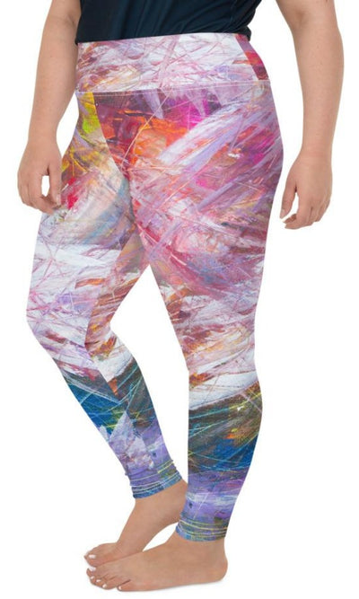 Sierra Plus Size Leggings - Legs Of Anarchy