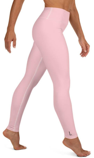 Pink Yoga Leggings - Legs Of Anarchy