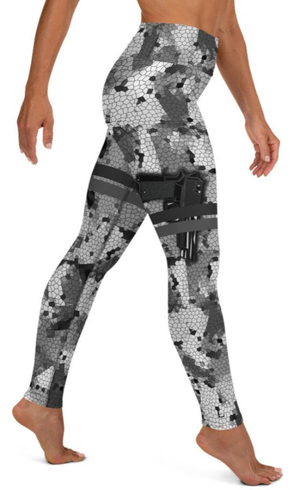 Locked & Loaded Yoga Leggings