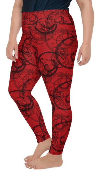 Nightmare Plus Size Leggings - Legs Of Anarchy