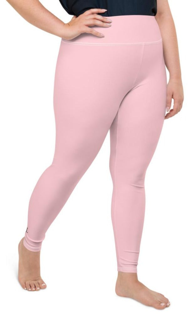Pink Plus Size Leggings - Legs Of Anarchy