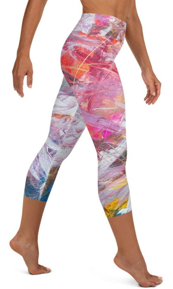 Sierra Yoga Capri Leggings