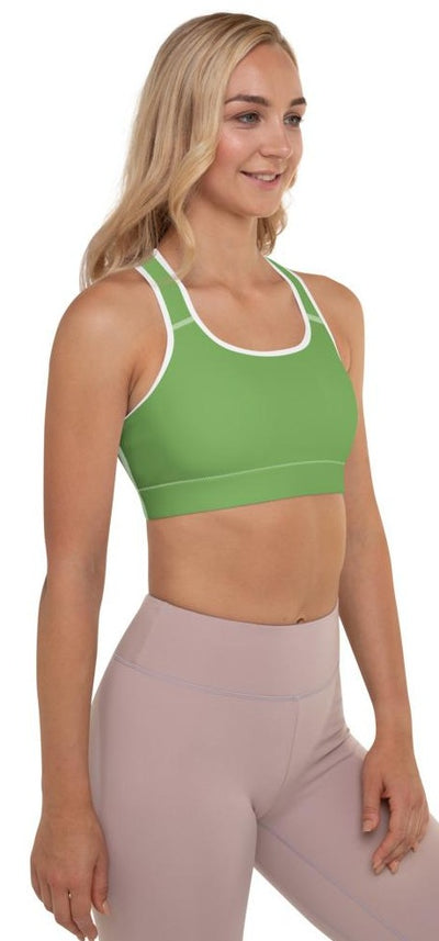 Camille Padded Sports Bra - Legs Of Anarchy