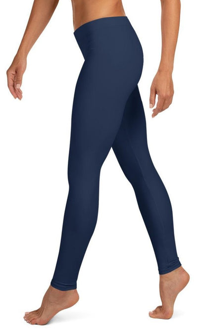 Classic Navy Leggings - Legs Of Anarchy