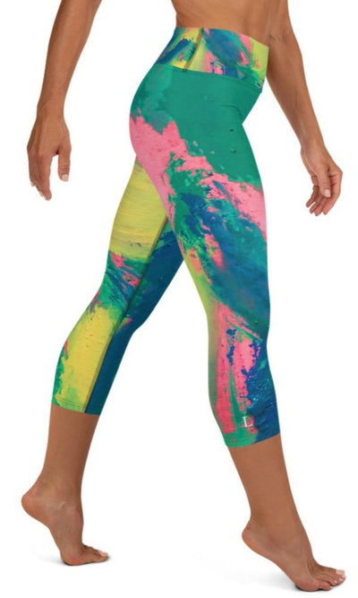 Sarah Yoga Capri Leggings - Legs Of Anarchy