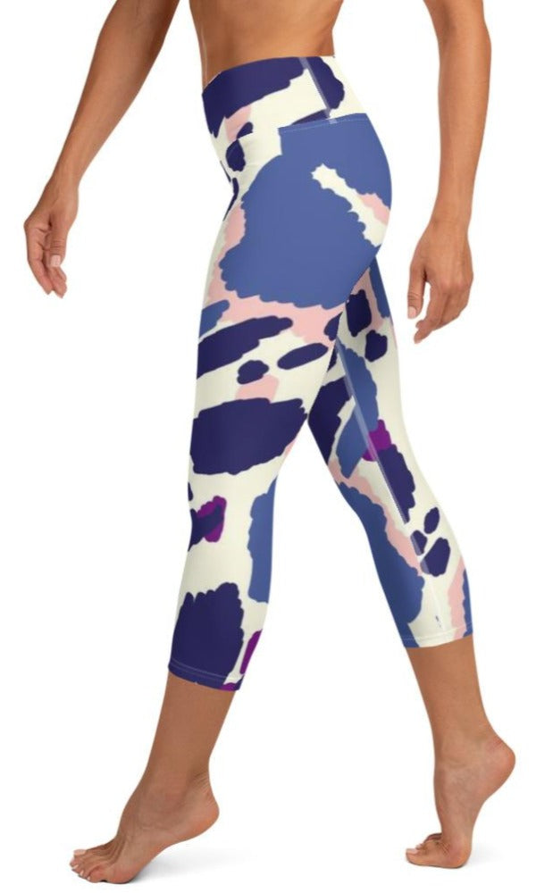 Alisa Yoga Capri Leggings - Legs Of Anarchy