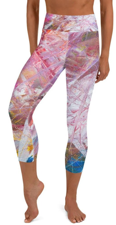 Sierra Yoga Capri Leggings - Legs Of Anarchy