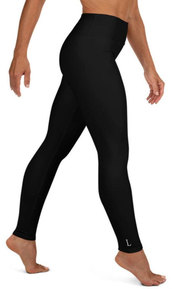 Classic Black Yoga Leggings