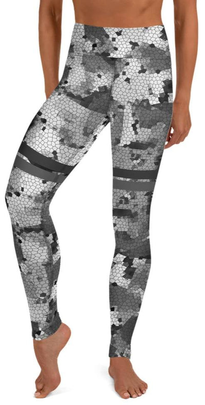 Locked & Loaded Yoga Leggings - Legs Of Anarchy