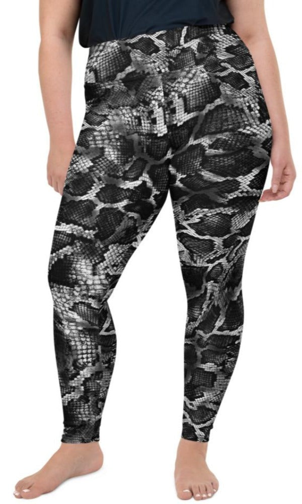 Venom Plus Size Leggings - Legs Of Anarchy