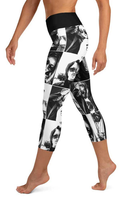Picture Perfect Yoga Capri Leggings - Legs Of Anarchy