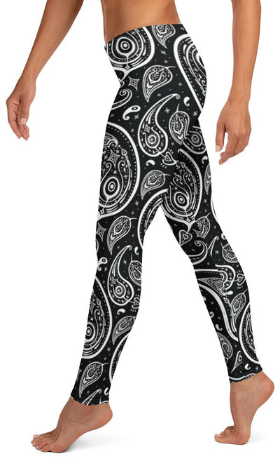 Paisley Leggings - Legs Of Anarchy