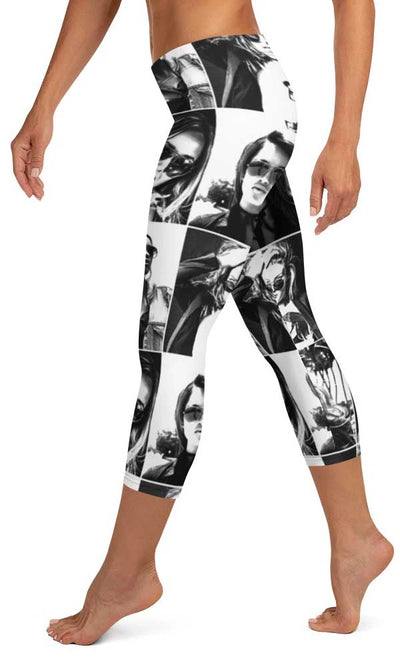 Picture Perfect Capri Leggings - Legs Of Anarchy
