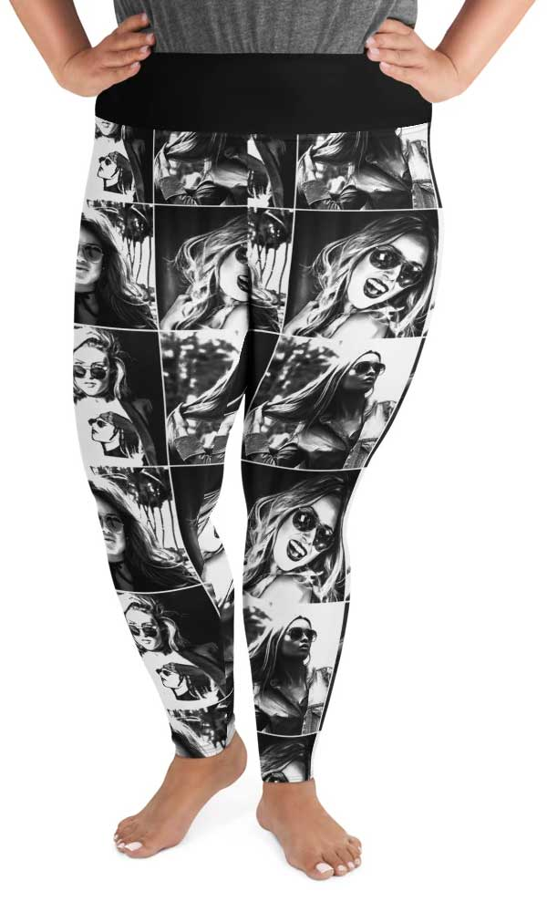 Picture Perfect Plus Size Leggings - Legs Of Anarchy