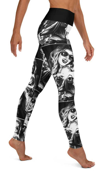 Picture Perfect Yoga Leggings - Legs Of Anarchy