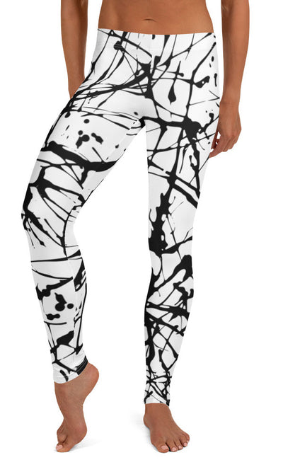 Paint Splatter Leggings - Legs Of Anarchy