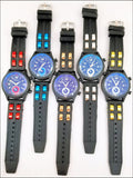 silicone band jelly watches for men and women
