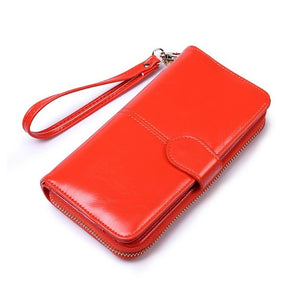 leather womens wallets