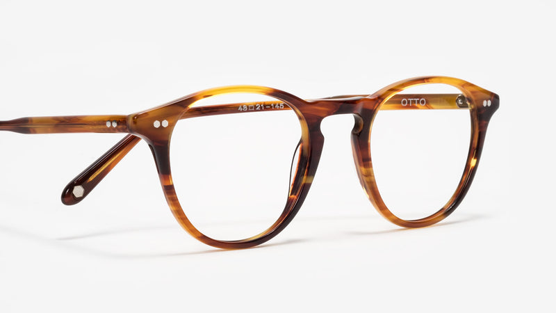 johann wolff otto tigerwood optical frame