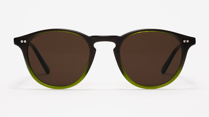 Johann Wolff Otto Hunter Green Sunglasses