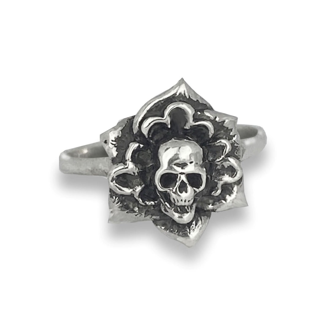 Sterling Silver Death Blossom Ring