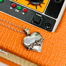 Load image into Gallery viewer, LOVEFOOL Large Sterling Silver Heart Pendant