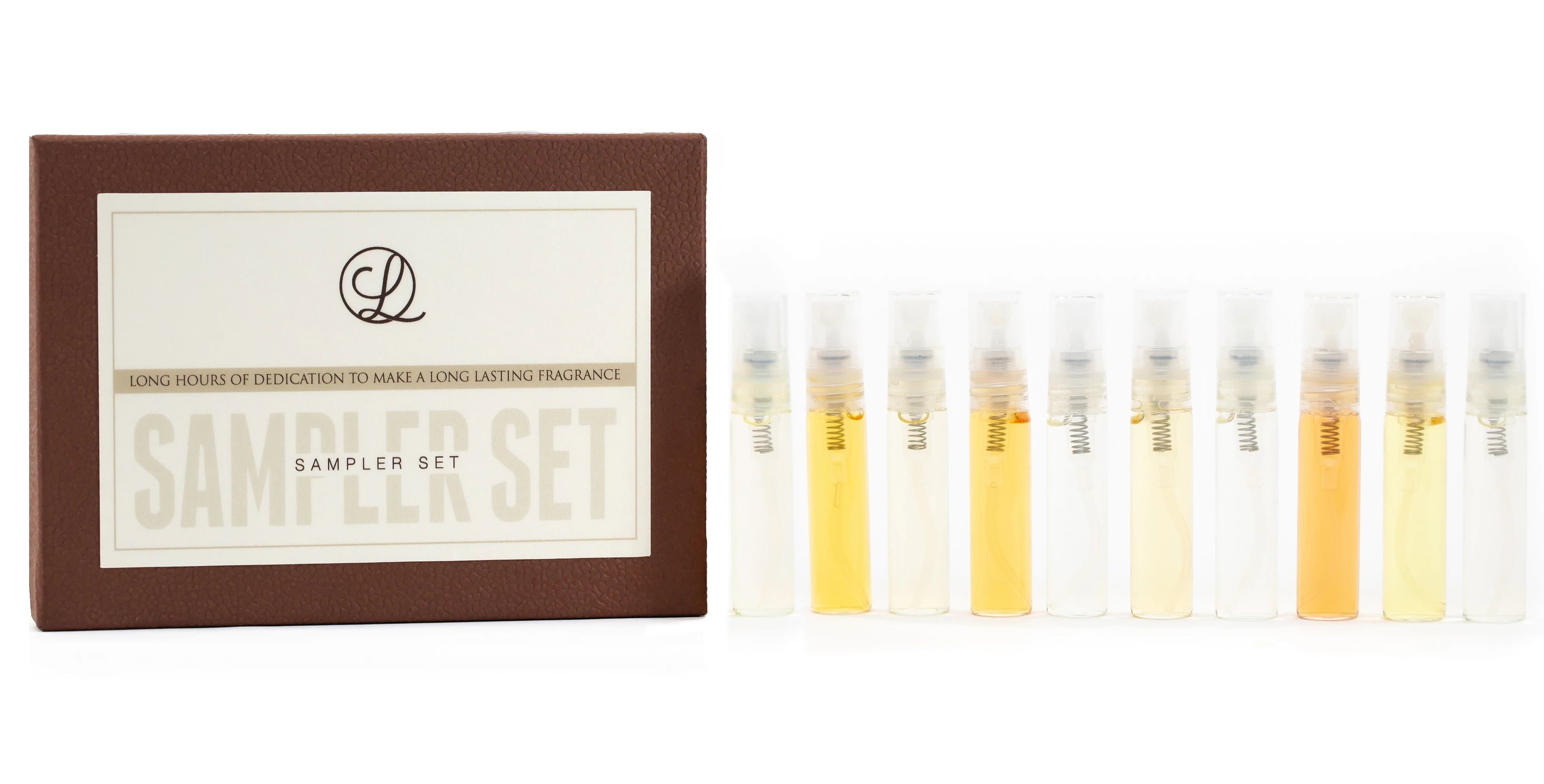 """Top 10"" Sampler Set (10 samples of our most popular fragrances - 5ml each sample)"