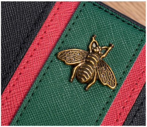 bee leather wallet
