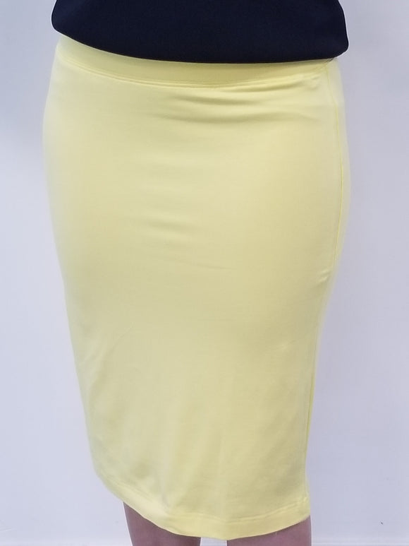 jersey skirt - daffodil - 45% off!