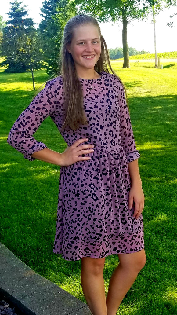 gone wild dress in mauve - 45% off!