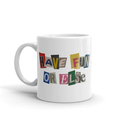 ransom note mug front